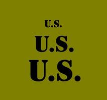 """U.S. markering för utrustning set med 3 storlekar 3"""" 2"""" och 1"""""""