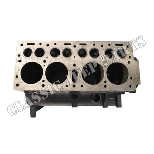 Engine block 4 cyl L-head gear to gear drive NEW MADE