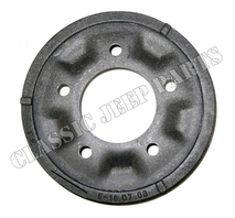 "Front and rear brake drum 9"" WILLYS MB CJ2A CJ3A FORD GPW"
