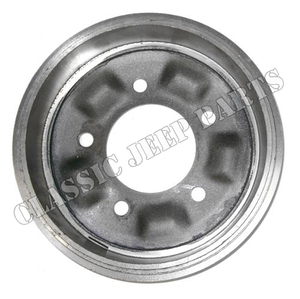 """Front and rear brake drum 9"""" WILLYS MB CJ2A CJ3A FORD GPW"""