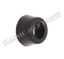 Spring shackle grease seal