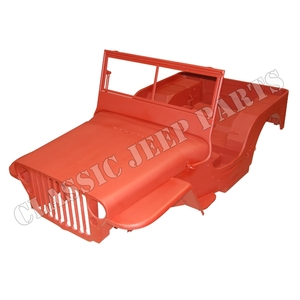 WILLYS MB karosskit version E COMPOSITE Januari 1944-April 1945