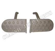 Clutch and brake pedals pair cast WILLYS MB