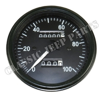 Speedometer standard kilometer