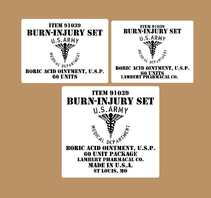 Burn injury Set