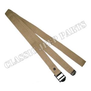 "Canvas utility strap 1"" wide 60 ½"" long"