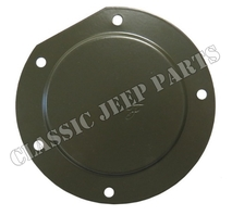 Master brake cylinder inspection cover FORD GPW F-script