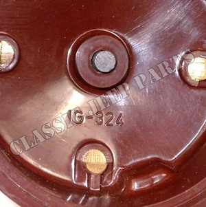 Distributor cap brown IG-324
