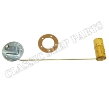 Fuel tank sender with gasket WILLYS MB FORD GPW 6 and 12 volt