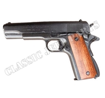 Colt 45 government with wood handle (Replica)