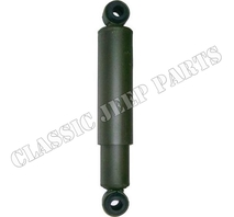 Shock absorber with rubber bushings  front