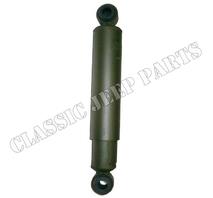 Shock absorber with rubber bushings rear