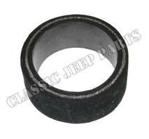 Rubber bushing carburator horn to air filter tube