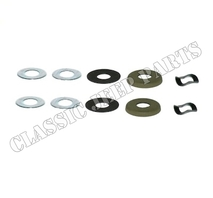 Windshield adjusting knob kit