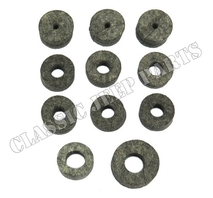 Firewall and engine felt grommet set FORD GPW