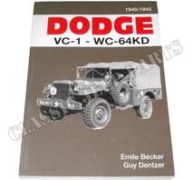 DODGE VC-1-WC-64KD 1940-1945 Emile Becker 320 sidor