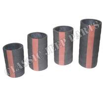 Radiator hose RED LINE kit with 4 pcs