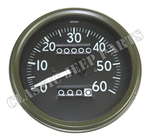 Speedometer miles short pointer late Stewart Warner style FORD GPW
