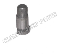 Flywheel to crankshaft dowel cylindrical late