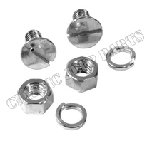 Screws and washers  shovel bracket