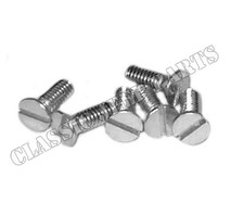 Screws 6 pcs rear axe bracket and hooks windshield clamps