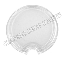 Parking light glass lens CJ2A early up to serial number 97740