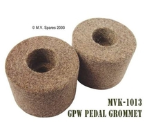 Pedal shaft felt grommets set FORD GPW