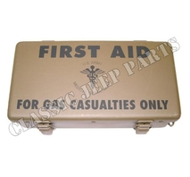 First aid box gas casualties