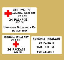 Ammonia Inhalant US Army