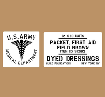 First Aid Packets 12x10 Units Brown