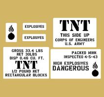 TNT Trotyl Sprängämne