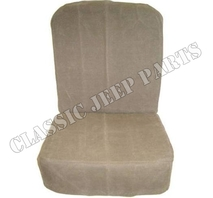 Front seats canvas cover CJ3A M38 M38A1 pair with hardware