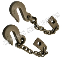 Safety chain pair WILLYS MBT BANTAM T3