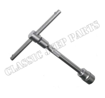 Fuel pump mounting socket wrench