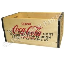 Trälåda Coca Cola