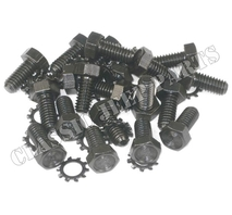 Kit with 20 recessed bolts and washers for oil sump