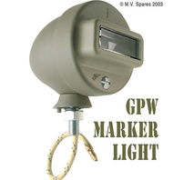 Marker light assembly right GPW F-script