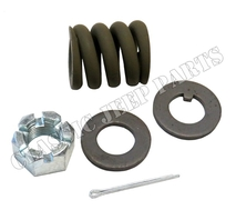 Lunette spring kit  spring nut and washers WILLYS MBT BANTAM T3