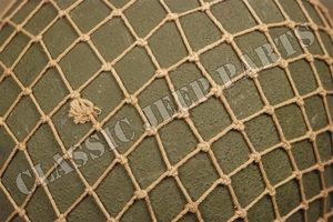 Helmet net Khaki colored with draw string for M1 M1C and M2 helmets