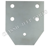 Reinforcement plate pintle hook MADE IN ENGLAND