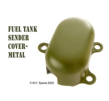Fuel tank sending unit metal cover MB