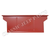 Body panel rear WILLYS MBT BANTAM T3