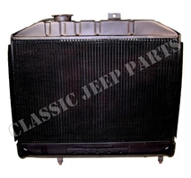 Radiator WILLYS MB 3 core
