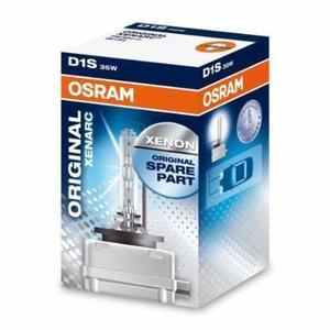Osram D1S original xenonlampa 2-pack