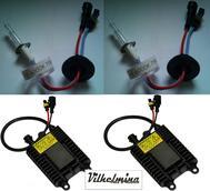 75 Watts Xenon Kit med 75 watts lampor och reläsats