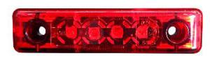 Positionsljus Led 4 SMT Röd