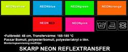 Klippa själv REFLEX NEON