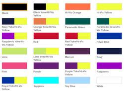 Reflexväst i många färger och storlekar