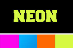 Text/Namn NEON HEAT TRANSFER