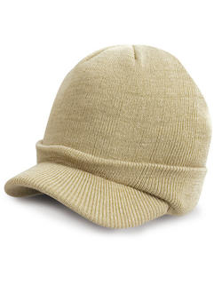 Junior Army Stickad Hat